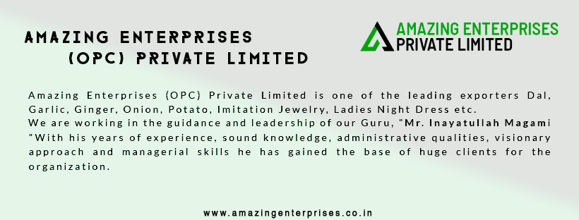 Amazing Enterprises Opc Pvt Ltd Hubli