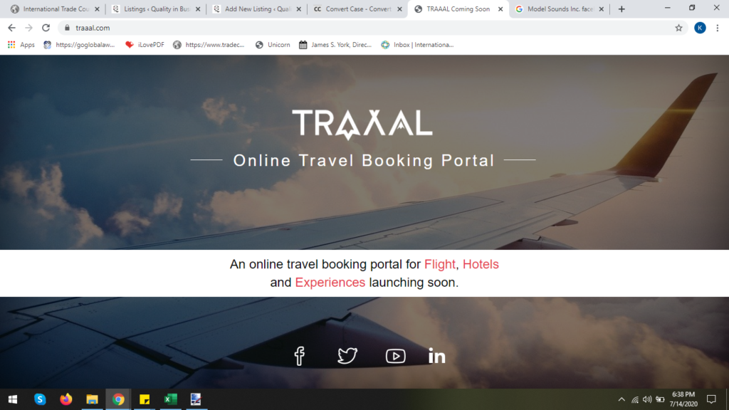 TRAAAL Travels Private Limited