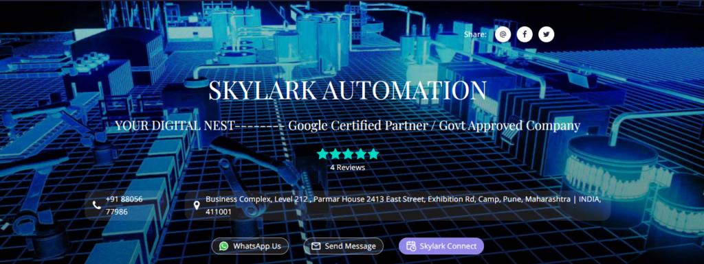 SKYLARK AUTOMATION PVT. LTD